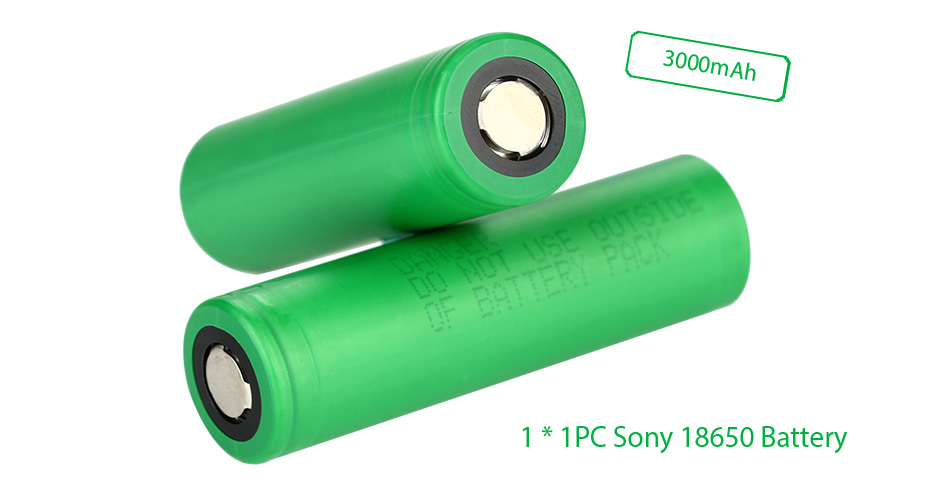 Sony 18650 VTC6 3000mAh High-drain Battery - 10C 30A