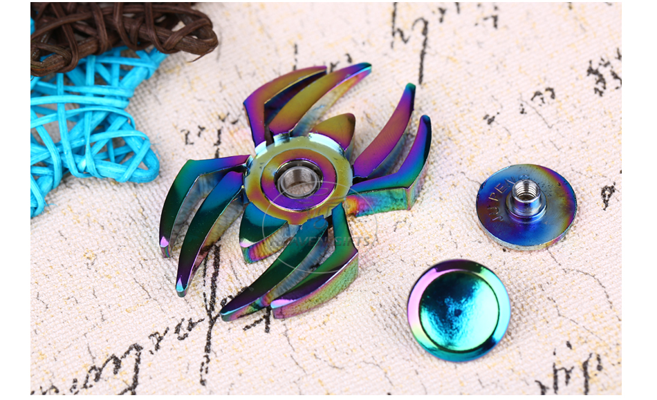 Spider Hand Spinner Fidget Toy