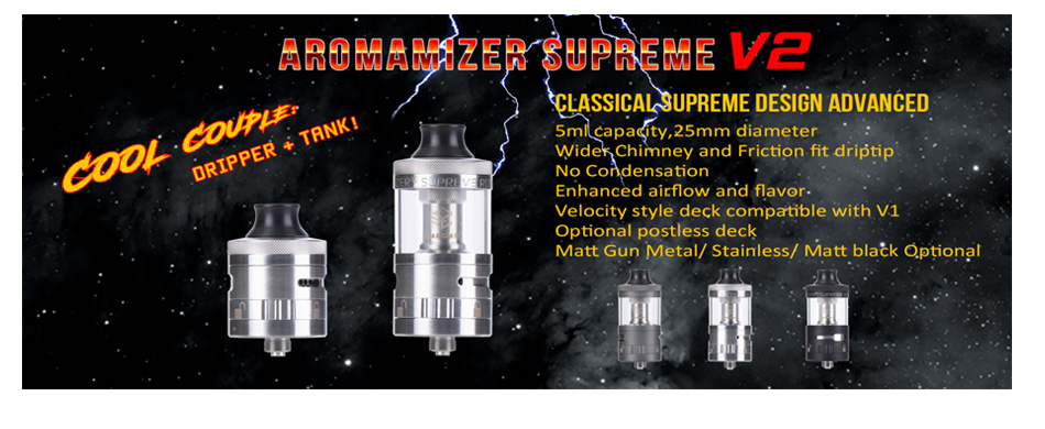 Steam Crave Aromamizer Supreme V2 RDTA - 5ml