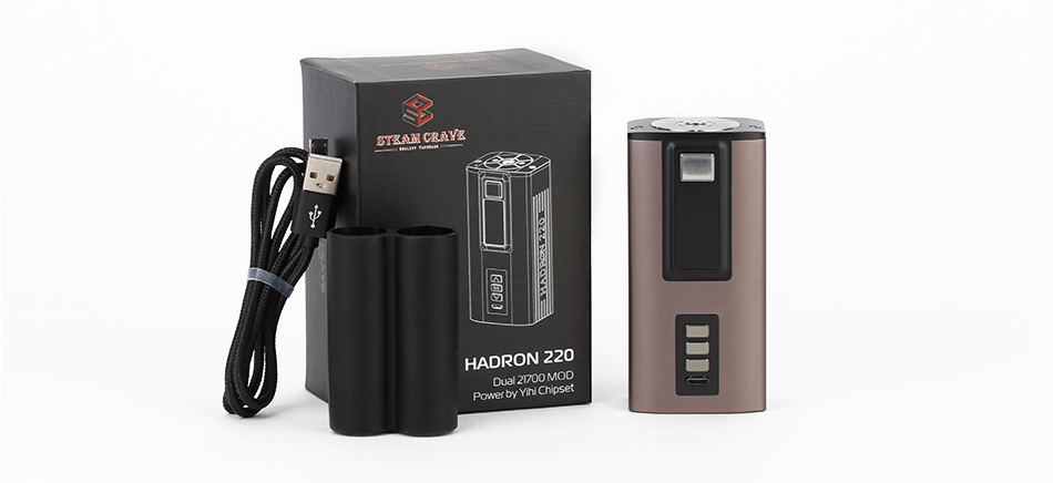 Steam Crave HADRON 220 YIHI Chip Box MOD