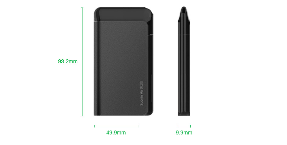 Kit de sistema de pod Suorin Air Plus 930mAh