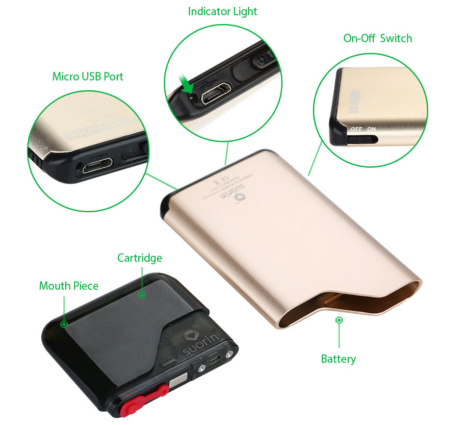 Suorin Air Starter Kit - 400mAh