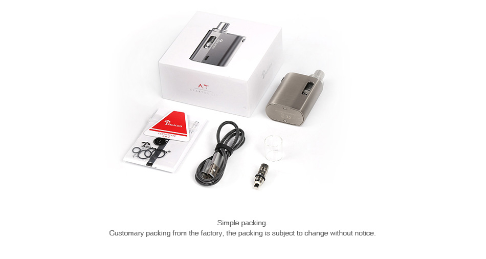 Tesla AT Starter Kit 900mAh