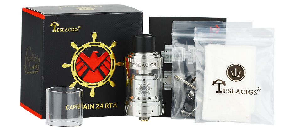 Tesla Captain 24 RTA Tank -2.5ml