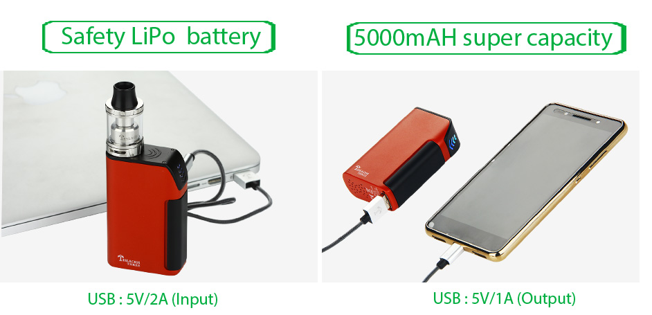 Tesla Teslacigs Three Starter Kit - 5000mAh