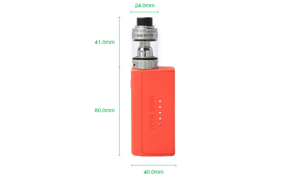 Tesla WYE 85W TC Kit with H8 Mini Tank
