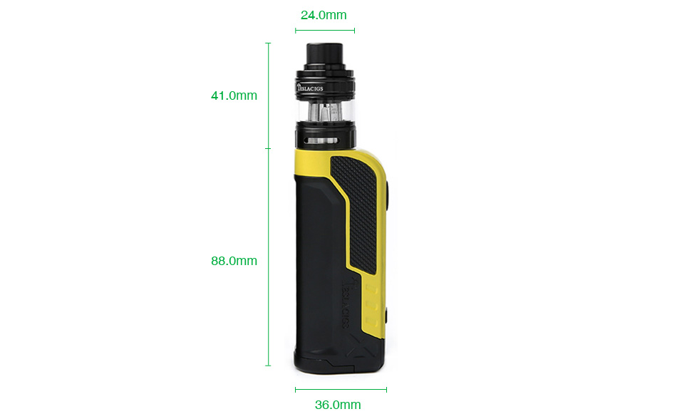 Tesla Warrior 85W TC Kit with H8 Mini Tank