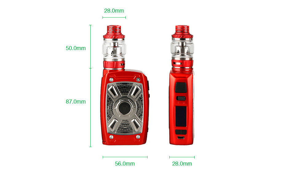 Kit Tesla XT Mini 220W TC com Tallica Mini