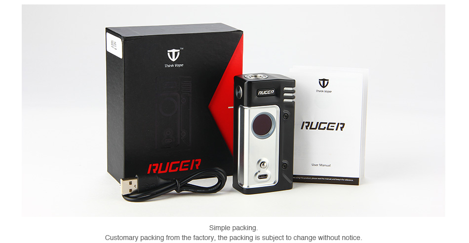 Think Vape Ruger 230W TC Box MOD