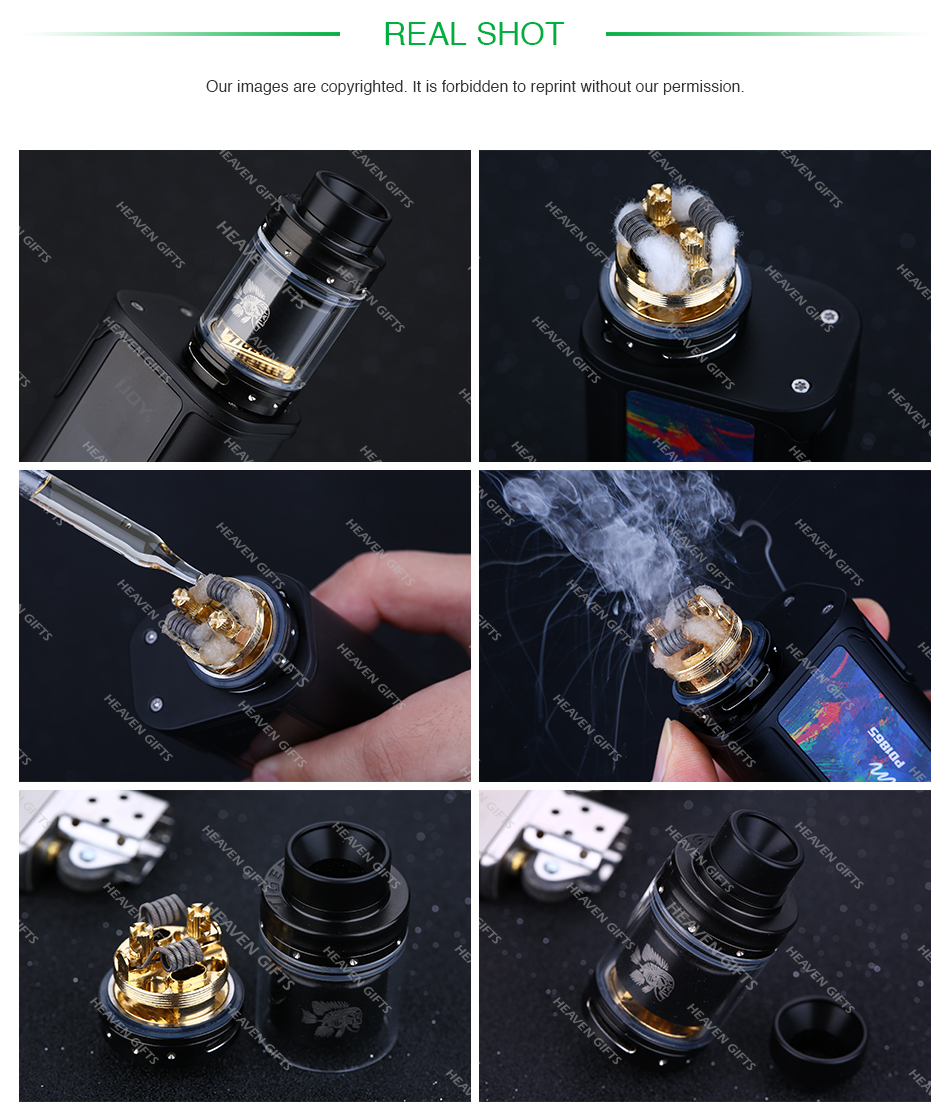 Tigertek Mermaid RTA 3.5ml