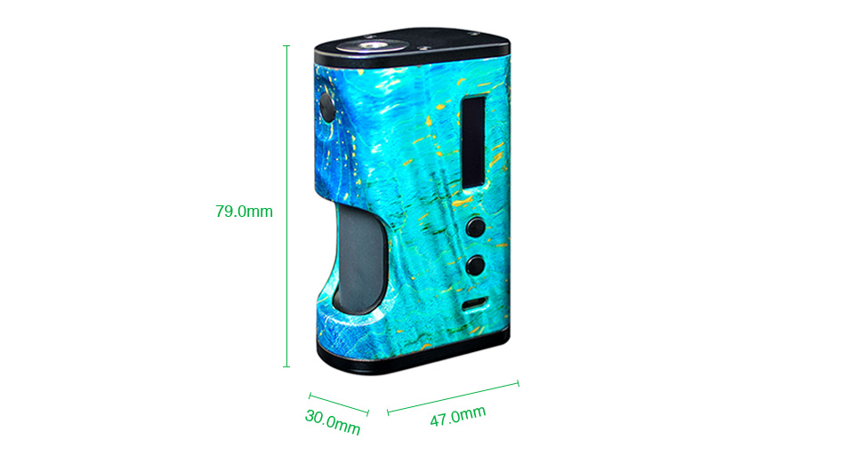 ULTRONER Aether Squonker 80W TC Box Mod