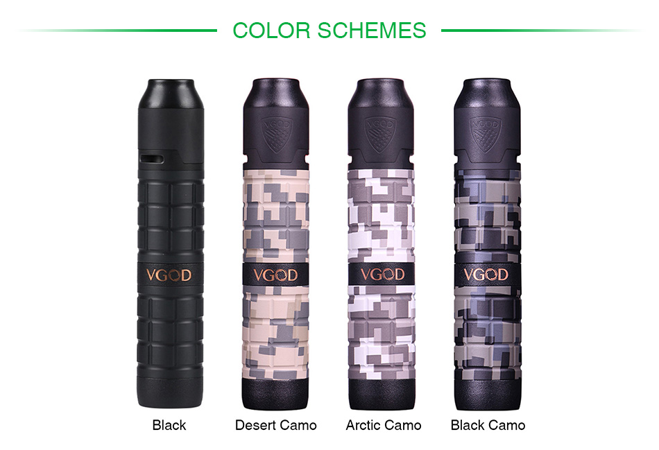 VGOD PRO Mech 2 Kit with Elite RDA