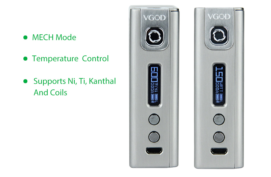 MODEL VGOD PRO150 BOX TC MOD W / O