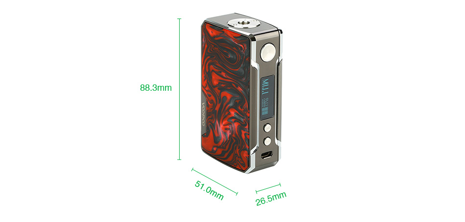 VOOPOO Drag 2 Platinum 177W TC Box MOD