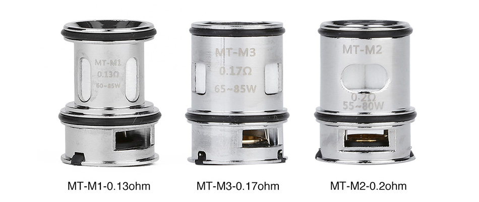 VOOPOO MT Replacement Coil for Maat Tank 3pcs