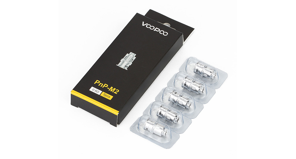 VOOPOO PnP Coil for Drag Baby Trio 5pcs