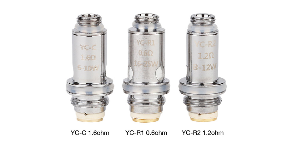 VOOPOO YC Replacement Coil 5pcs