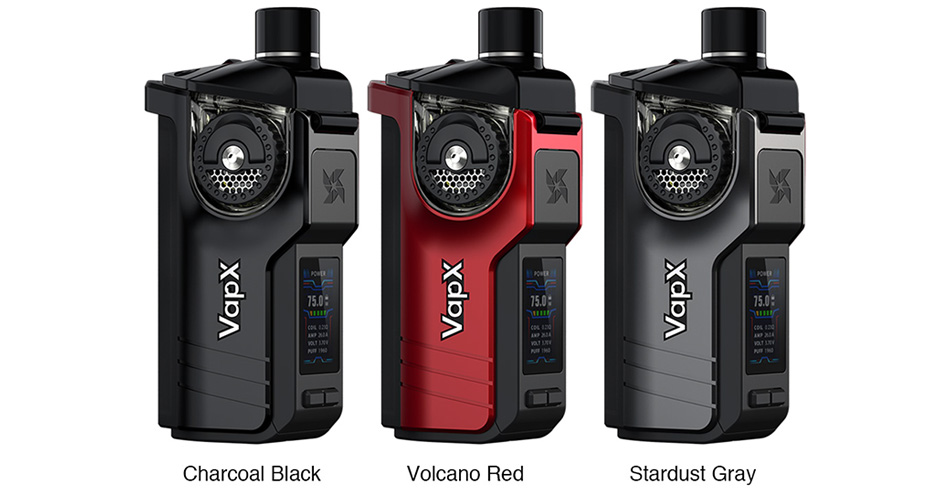 VapX Geyser 100W Pod Kit with 21700 Battery 4000mAh