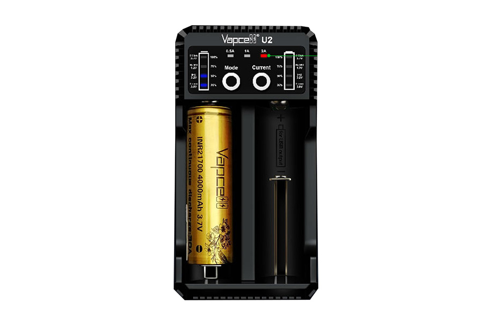 Vapcell U2 Battery Charger