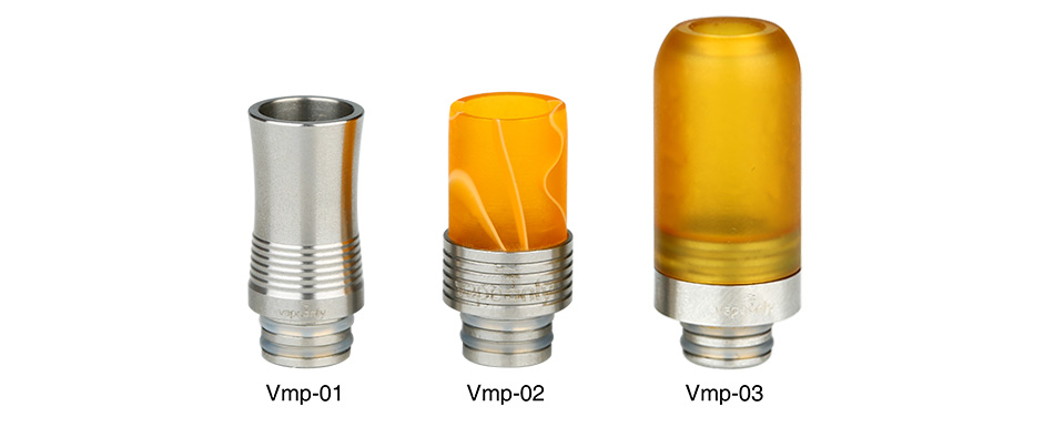 VapeOnly 510 Drip Tip 5pcs