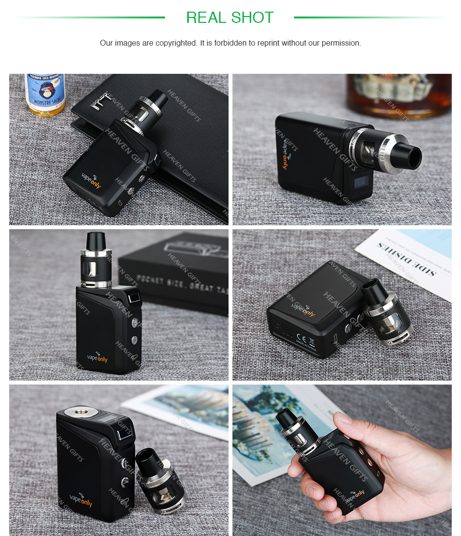 VapeOnly Optimus Mini 50W TC Kit 1500mAh