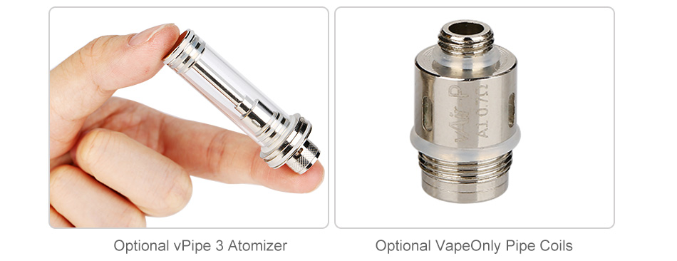 VapeOnly Zen Pipe Body MOD W/O Battery