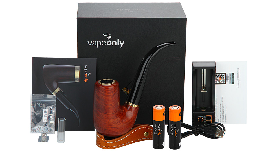 VapeOnly Zen Pipe Kit with 18650 Battery - 2200mAh