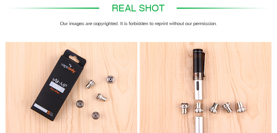 VapeOnly vPen Replacement Coil 5pcs