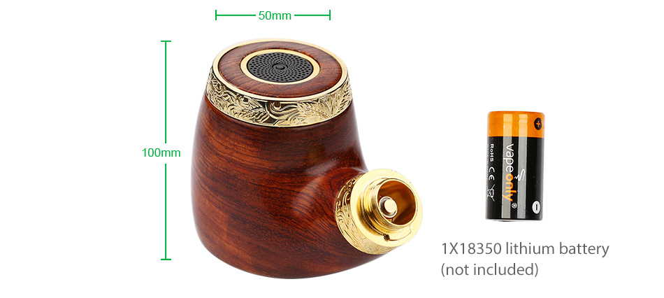 VapeOnly vPipe 3 Body W/O Battery