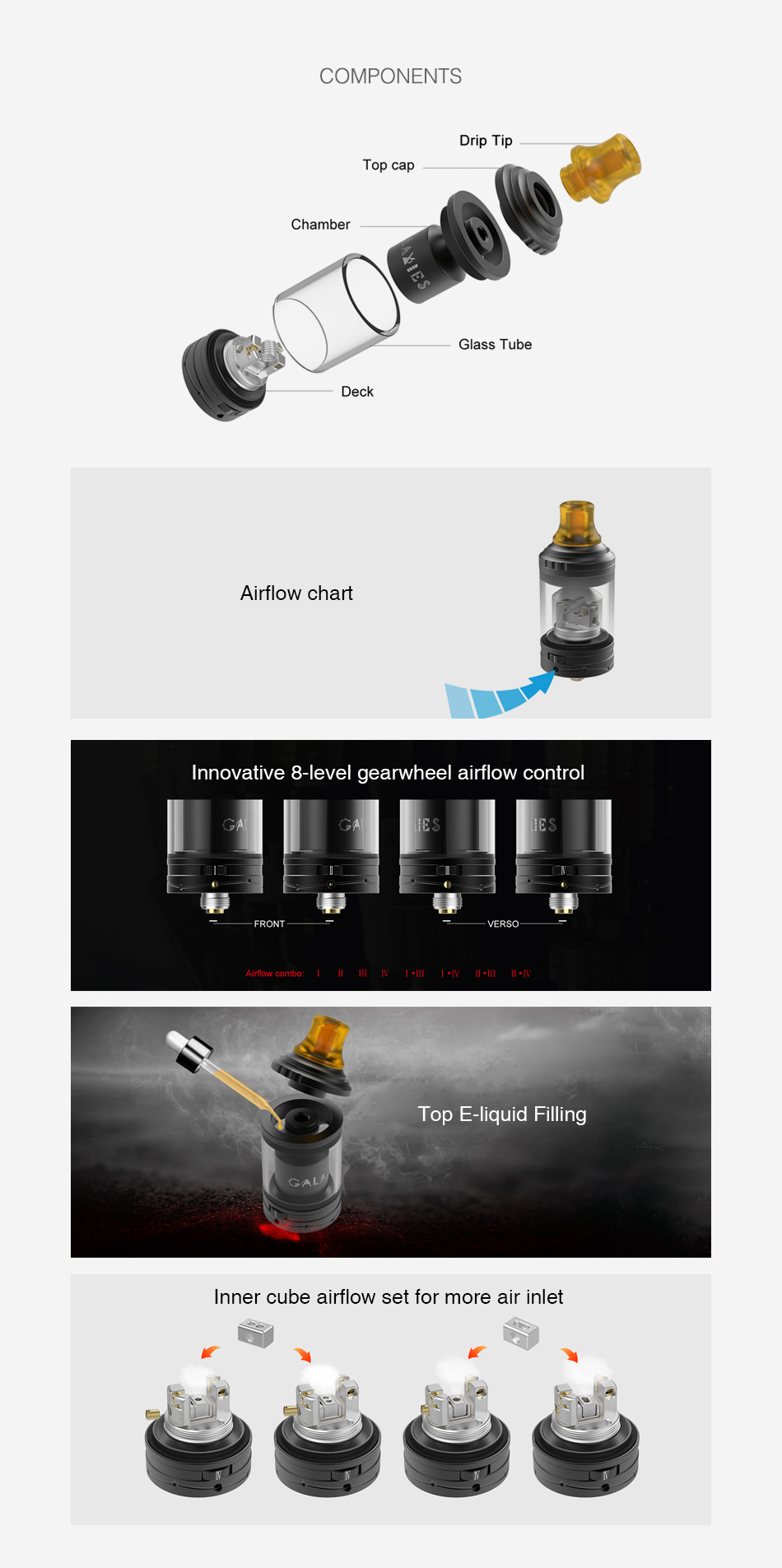 Vapefly Galaxies MTL RTA 2ml/3ml