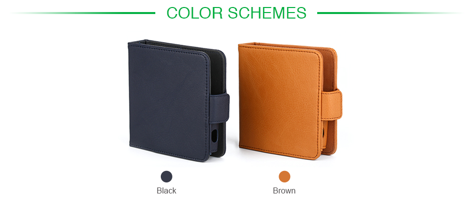 Vapesoon Leather Storage Bag for IQOS