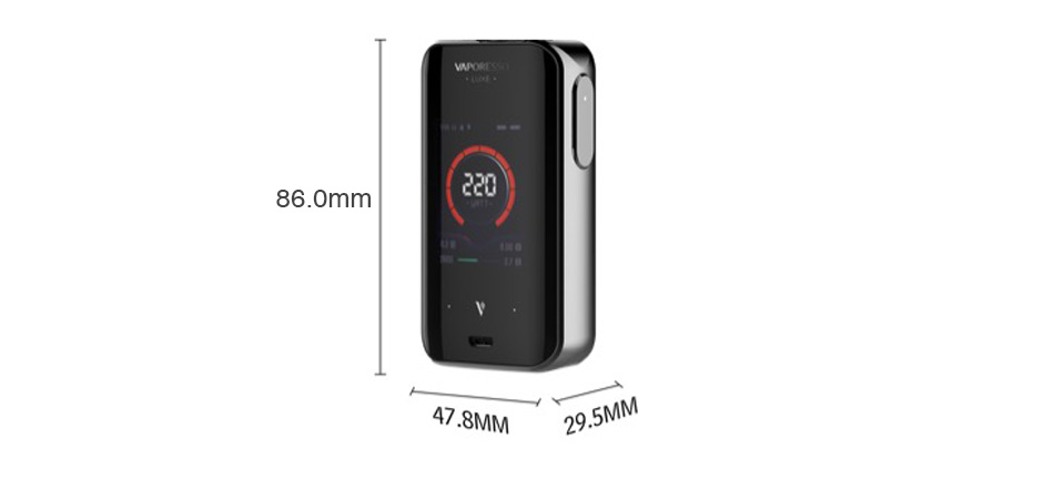 Vaporesso Luxe 220W Touch Screen TC MOD