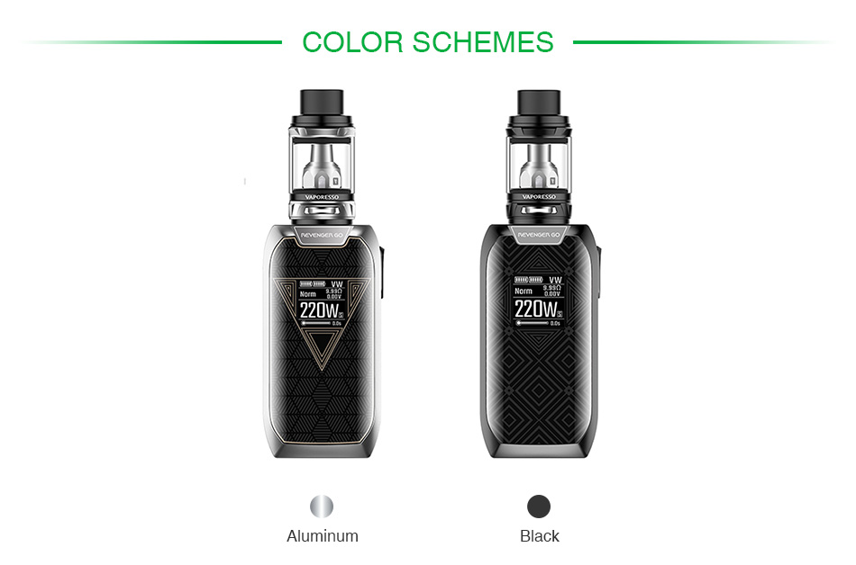 Vaporesso Revenger GO 220W with NRG TC Kit 5000mAh