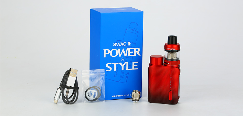 Vaporesso Swag II 80W TC Kit with NRG PE Tank