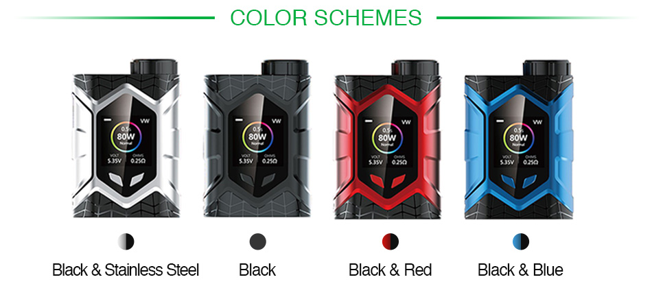 Vaptio Wall Crawler 80W TC Box MOD