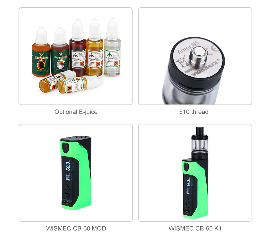 WISMEC AMOR NS Atomizer 2ml