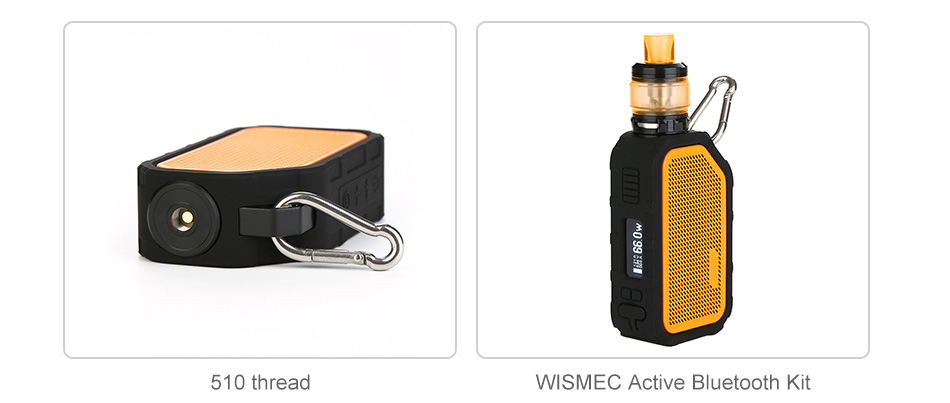 WISMEC Active Bluetooth Music TC Box MOD 2100mAh