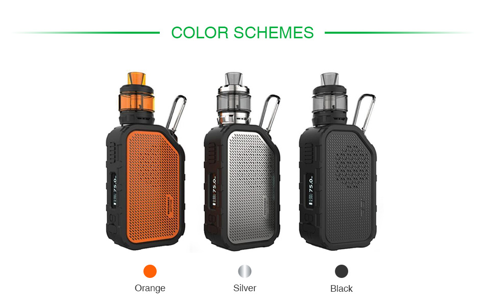 WISMEC Active Bluetooth Music TC Kit with Amor NS Plus 2100mAh