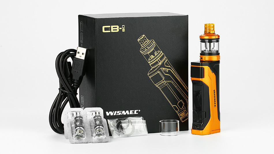 WISMEC CB-80 with Amor NS Pro TC Kit
