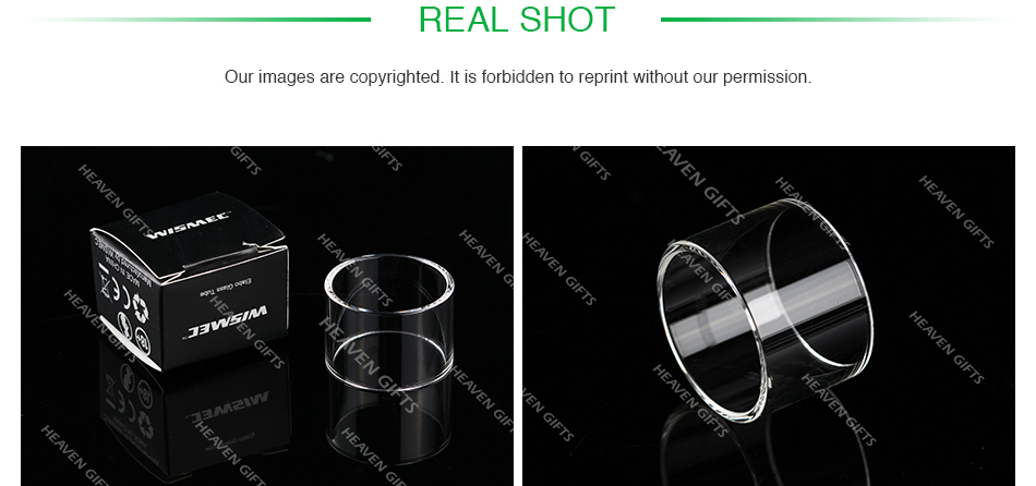 WISMEC Elabo Replacement Glass Tube 4.9ml