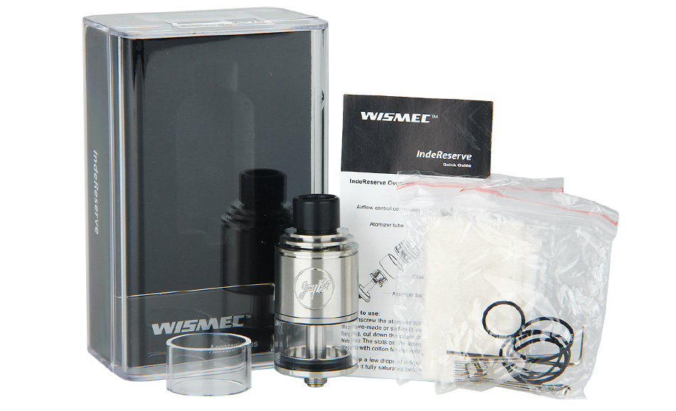 WISMEC IndeReserve RTA Atomizer - 4.5ml