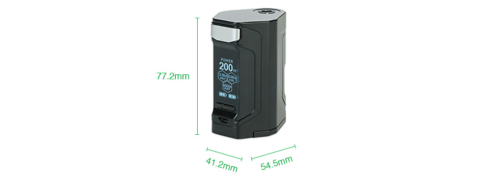 WISMEC Luxotic DF 200W TC Box MOD