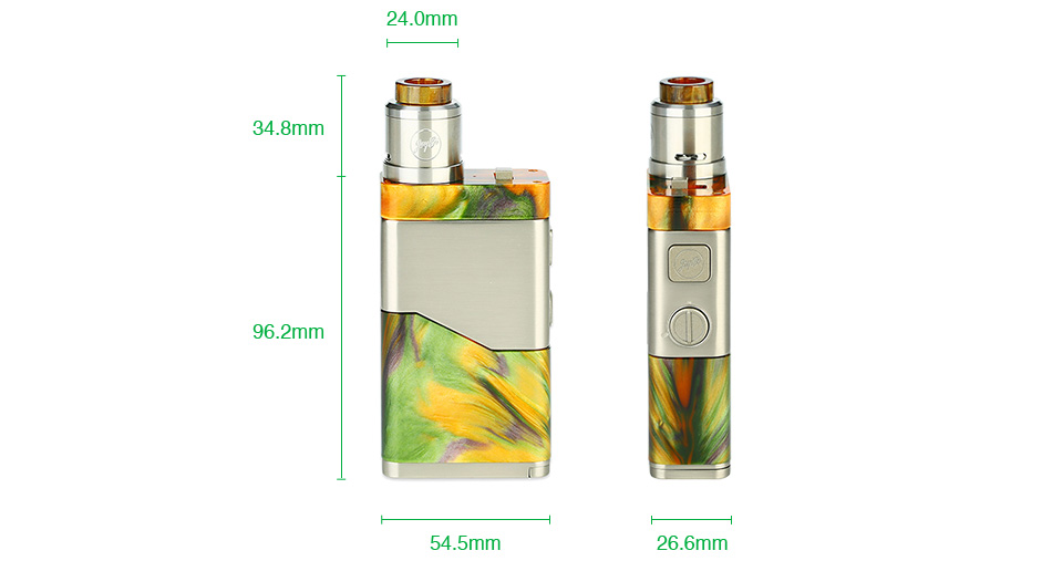 WISMEC Luxotic NC 250W 20700 Kit with Guillotine V2