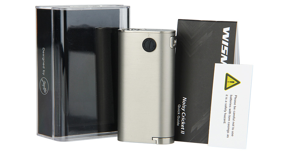WISMEC Noisy Cricket II-22 MOD W/O Battery