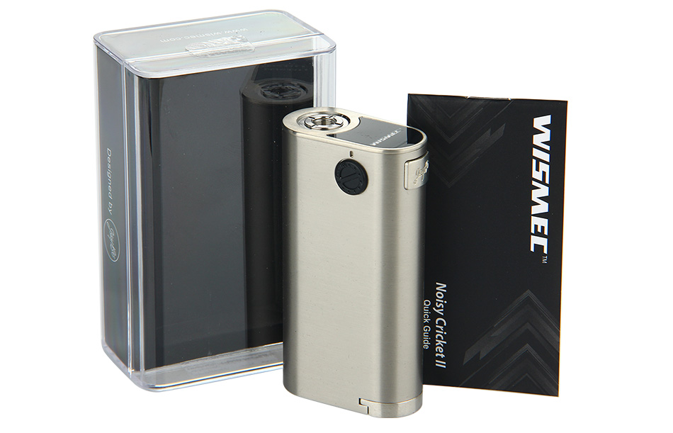 WISMEC Noisy Cricket II-25 MOD W/O Battery