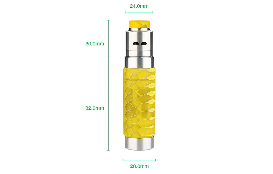 WISMEC Reuleaux RX Machina 20700 Mech MOD with Guillotine RDA Kit 3000mAh