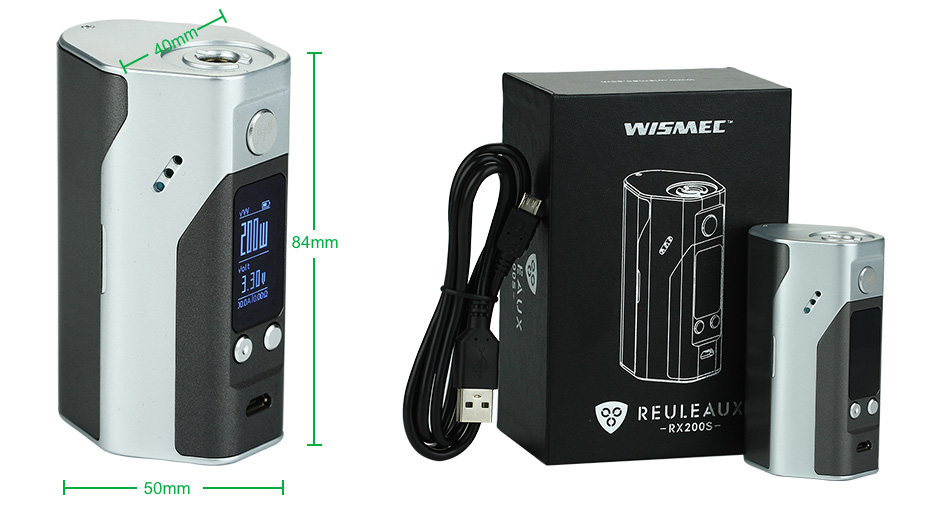 WISMEC Reuleaux RX200S TC Express Kit W/O Battery