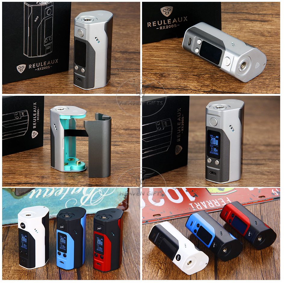 WISMEC Reuleaux RX200S Kit TC Express W / O Battery