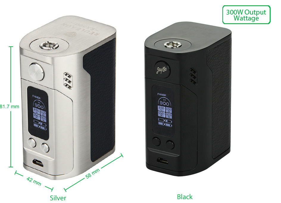 WISMEC Reuleaux RX300 TC Express Kit W/O Battery