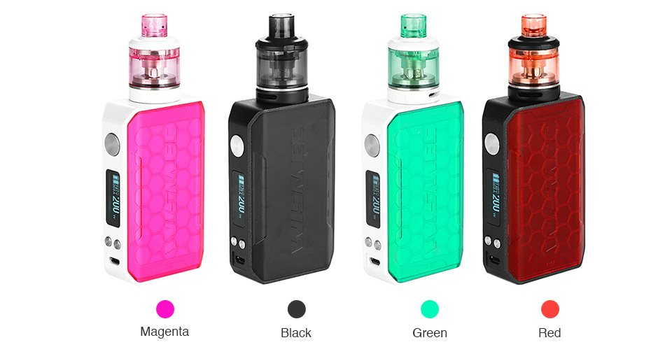 WISMEC SINUOUS V200 200W TC Kit with Amor NSE